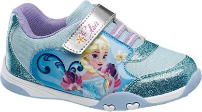 Frozen Blauwe sneakers klittenband