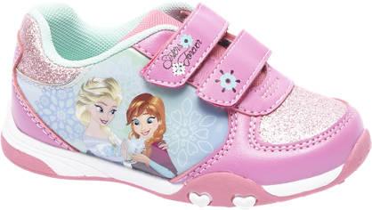 Frozen Roze frozen sneaker klittenband