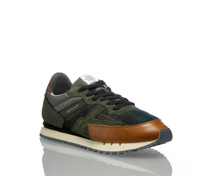 Gant Gant David Herren Sneaker Grün