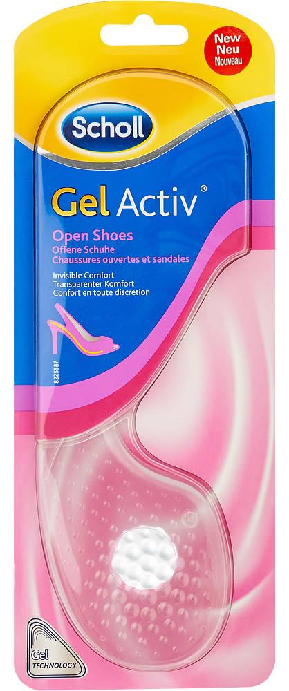Scholl GelActiv Einlegesohle Offene Schuhe 35-40