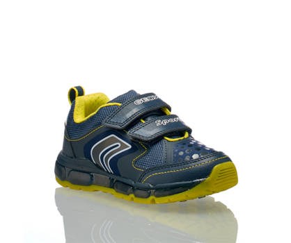 Geox Geox Android sneaker bambino blu navy