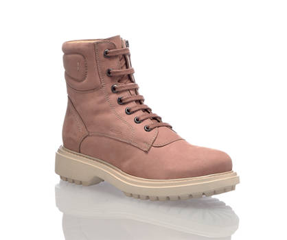 Geox Geox Asheely boot à lacet femmes rose