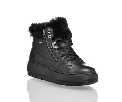 Geox Geox Kaula boot à lacet femmes noir