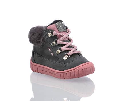 Geox Geox Omar chaussure à lacet filles gris