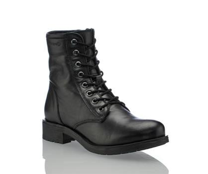 Geox Geox Rawelle boot à lacet femmes noir