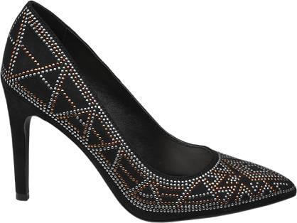 Graceland Studded Heeled Shoe