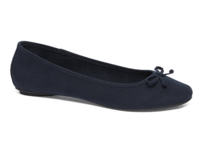 Graceland Blauwe ballerina strikje