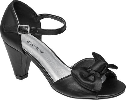 Graceland Bow Detail Heeled Party Shoe