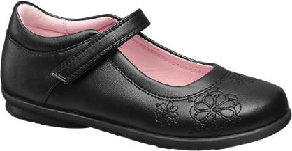 Graceland Flower Embroidered Bar Shoe