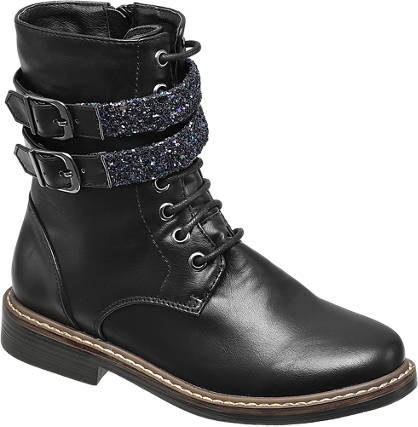 Graceland Sparkle Strap Boot