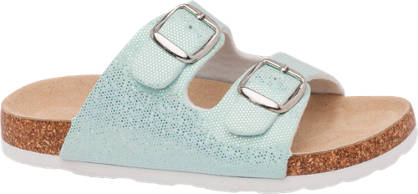 Graceland Sparkle Footbed Sandal