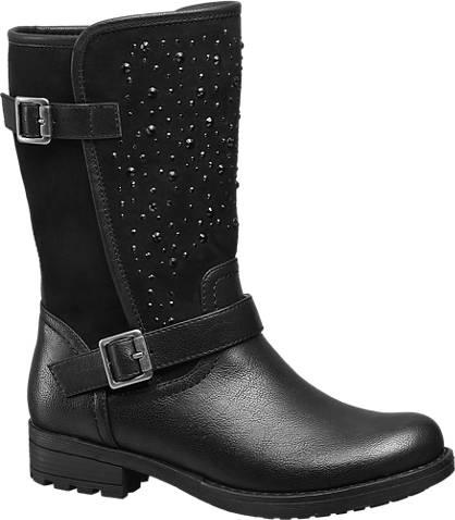 Graceland Junior Girl Gem Detail Boot