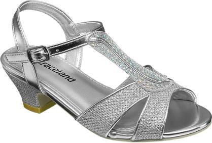 Graceland Glitter Heeled Sandal