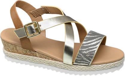 Graceland Strappy Wedge Sandal
