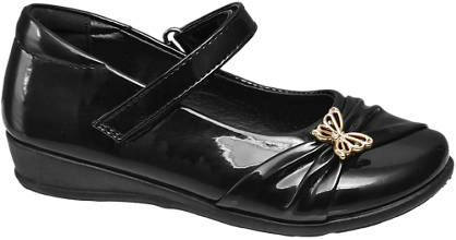 Graceland Junior Girl Butterfly Detail Bar Shoes