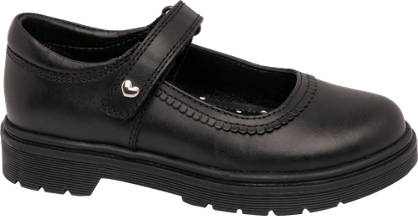 Graceland Junior Girl Leather Chunky Bar Shoes