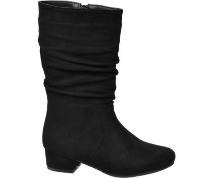 Graceland Junior Girl Rouched Leg Heeled Boots