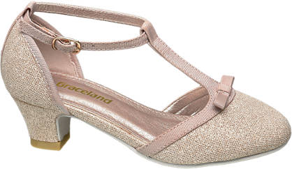 Graceland Junior Girl T-Bar Party Shoes