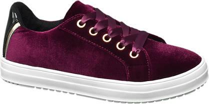 Graceland Junior Girl Velvet Lace-up Casual Shoes