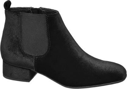Graceland Junior Girl Velvet Heeled Chelsea Boots