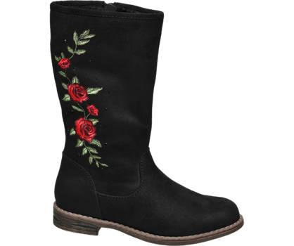 Graceland Junior Girl Embroidered High Leg Boots