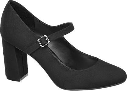 Graceland Block Heel Bar Shoes
