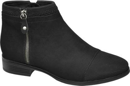 Graceland Zip Detail Ankle Boots