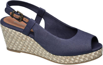 Graceland Slingback Wedge Sandals