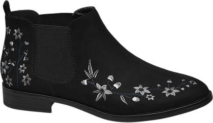 Graceland Embroidery Chelsea Boot