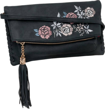 Graceland Embroidery Clutch Bag