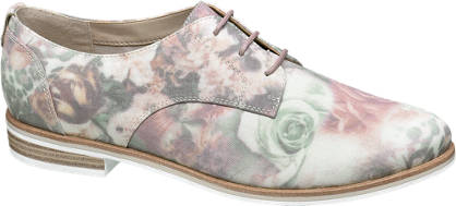 Graceland Floral Lace-up Shoes