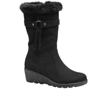 Graceland Junior Girl Faux Fur Wedge Boot