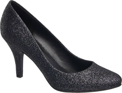 Graceland Glitter Court Shoe