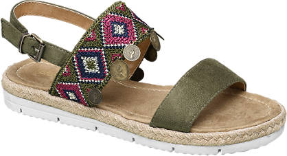 Graceland Coin Drop Sandals