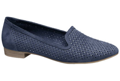 Graceland Laser Cut Loafers