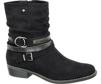 Graceland Rouched Boot