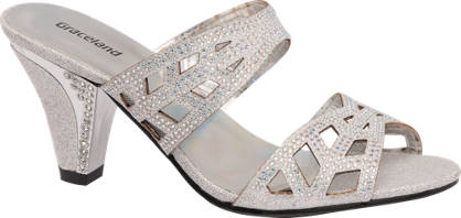 Graceland Gem Detail Heeled Sandal