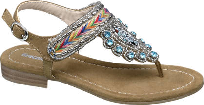 Graceland Gem Detail Sandal