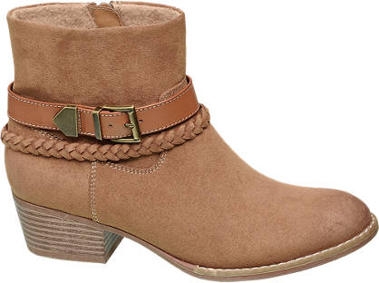 Graceland Teen Girls Buckle Detail Ankle Boots