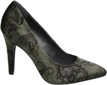 Graceland Pattern Heeled Shoe