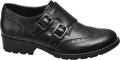 Graceland Teen Girl Monk Shoes