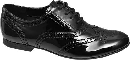 Graceland Teen Girl Patent Brogues