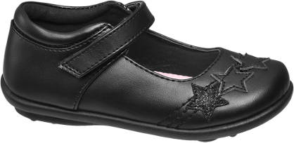 Graceland Toddler Girl Star Detail Bar Shoes