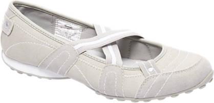 Graceland Witte sportieve ballerina