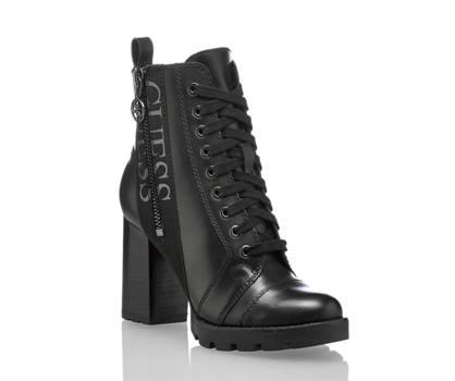 Guess Guess Remedy boot à lacet femmes noir
