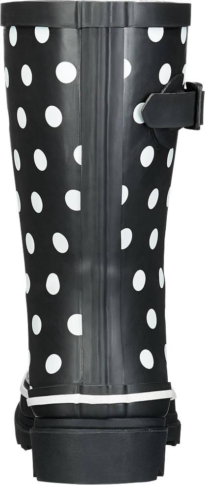 Cortina Gummistiefel schwarz, weiß