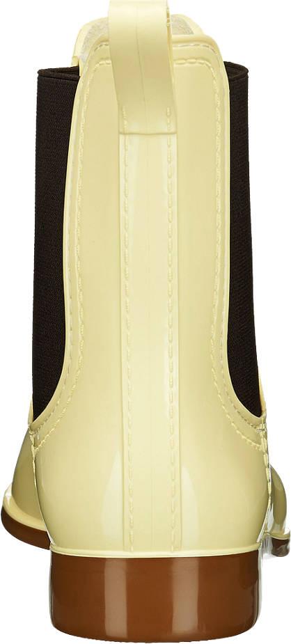 Graceland Gummistiefelette gelb