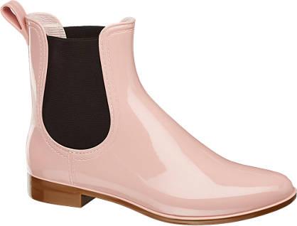 Graceland Gummistiefelette rosa