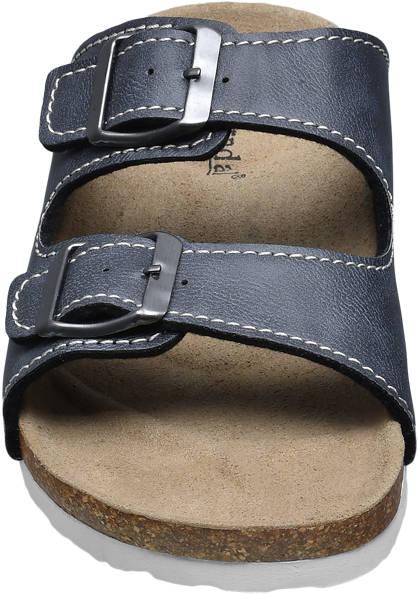 Björndal Hausschuh grau