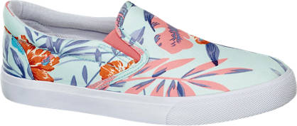 Vty Hawaii mintás slip on